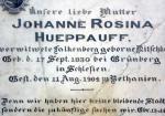 Hueppauff aus Grunberg